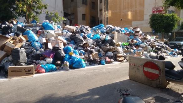 Hamra Buried In Trash